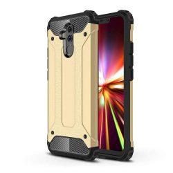 Hibrid Armor telefon tok telefontok (hátlap) tok Ütésálló Robusztus Cover Huawei Mate 20 Lite arany