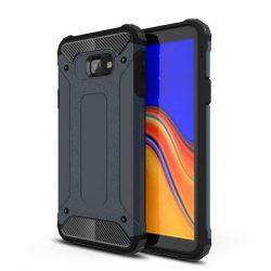 Hibrid Armor telefon tok hátlap tok Ütésálló Robusztus Cover Samsung Galaxy J4 Plus 2018 J415 (EU), kék