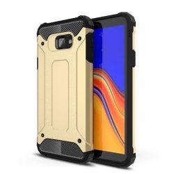 Hibrid Armor telefon tok hátlap tok Ütésálló Robusztus Cover Samsung Galaxy J4 Plus 2018 J415 (EU) arany