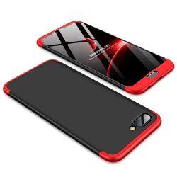 GKK 360 Protection telefon tok telefontok Első és hátsó az egész testet fedő Huawei Honor 10 fekete-piros