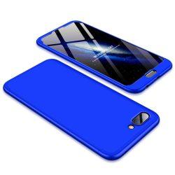 GKK 360 Protection telefon tok telefontok Első és hátsó az egész testet fedő Huawei Honor 10 kék