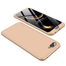 GKK 360 Protection telefon tok hátlap tok Első és hátsó tok telefon tok hátlap az egész testet fedő Huawei Honor 10 arany