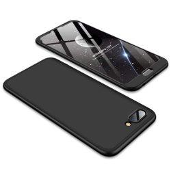 GKK 360 Protection telefon tok telefontok Első és hátsó az egész testet fedő Huawei Honor 10 fekete