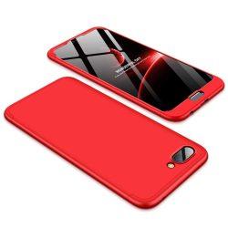 GKK 360 Protection telefon tok telefontok Első és hátsó az egész testet fedő Huawei Honor 10 piros
