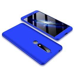 GKK 360 Protection telefon tok telefontok Első és hátsó az egész testet fedő Nokia 6.1 blue