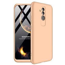 GKK 360 Protection telefon tok hátlap tok Első és hátsó tok telefon tok hátlap az egész testet fedő Huawei Mate 20 Lite arany