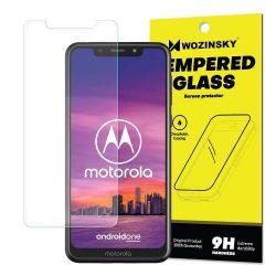 Wozinsky edzett üveg 9H képernyővédő fólia Motorola One (csomagolás - boríték) kijelzőfólia üvegfólia tempered glass