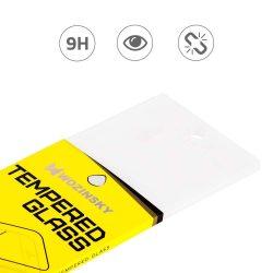 Wozinsky edzett üveg Teljes Glue Super Tough képernyővédő fólia Teljes Coveraged kerettel telefon tok hátlap tok barát Huawei Honor 8X fekete kijelzőfólia üvegfólia tempered glass