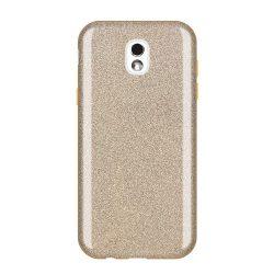 Wozinsky Glitter telefon tok telefontok Shining Cover Samsung Galaxy J5 2017 J530 arany