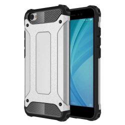 Hibrid Armor telefon tok telefontok (hátlap) tok Ütésálló Robusztus hátlap tok telefon tok Xiaomi redmi NOTE 5A ezüst