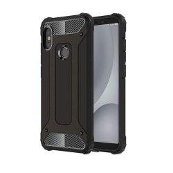 Hibrid Armor telefon tok hátlap tok Ütésálló Robusztus hátlap tok telefon tok Xiaomi Mi A2 / Mi 6X fekete