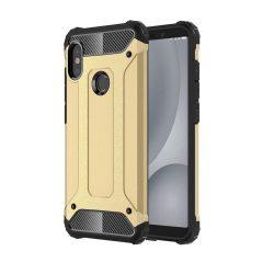 Hibrid Armor telefon tok telefontok (hátlap) tok Ütésálló Robusztus hátlap tok telefon tok Xiaomi Mi A2 / Mi 6X arany