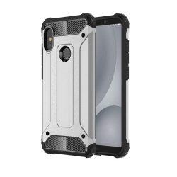 Hibrid Armor telefon tok telefontok (hátlap) tok Ütésálló Robusztus hátlap tok telefon tok Xiaomi Mi A2 / Mi 6X ezüst