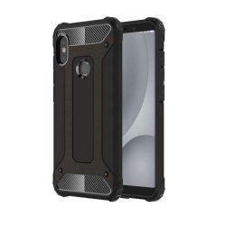 Hibrid Armor telefon tok hátlap tok Ütésálló Robusztus hátlap tok telefon tok Xiaomi Mi A2 Lite / redmi 6 Pro fekete