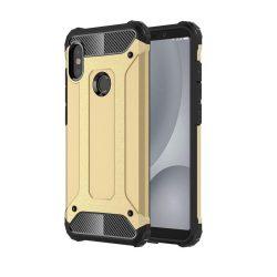 Hibrid Armor telefon tok hátlap tok Ütésálló Robusztus hátlap tok telefon tok Xiaomi Mi A2 Lite / redmi 6 Pro arany