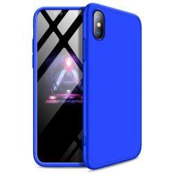 GKK 360 Protection telefon tok telefontok Első és hátsó az egész testet fedő iPhone XR kék