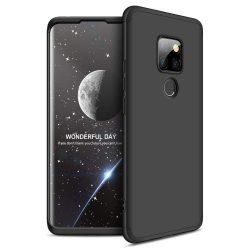 GKK 360 Protection telefon tok hátlap tok Első és hátsó tok telefon tok hátlap az egész testet fedő Huawei Mate 20 fekete