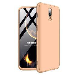 GKK 360 Protection telefon tok hátlap tok Első és hátsó tok telefon tok hátlap az egész testet fedő OnePlus 6T arany
