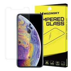 Wozinsky Vékony edzett üveg 0,15mm 9H képernyővédő fólia iPhone XS Max kijelzőfólia üvegfólia tempered glass