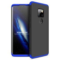 GKK 360 Protection telefon tok hátlap tok Első és hátsó tok telefon tok hátlap az egész testet fedő Huawei Mate 20 fekete-kék