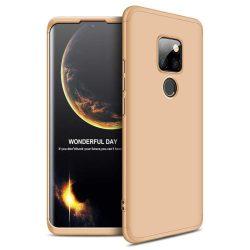 GKK 360 Protection telefon tok hátlap tok Első és hátsó tok telefon tok hátlap az egész testet fedő Huawei Mate 20 arany
