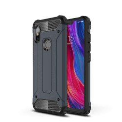 Hibrid Armor telefon tok hátlap tok Ütésálló Robusztus hátlap tok telefon tok Xiaomi redmi 6 NOTE Pro kék
