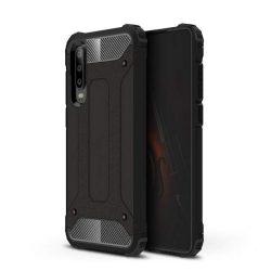 Hibrid Armor telefon tok telefontok (hátlap) tok Ütésálló Robusztus Cover Huawei P30 fekete
