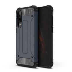 Hibrid Armor telefon tok telefontok (hátlap) tok Ütésálló Robusztus Cover Huawei P30 kék