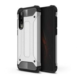 Hibrid Armor telefon tok telefontok (hátlap) tok Ütésálló Robusztus Cover Huawei P30 ezüst