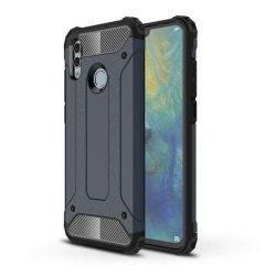 Hibrid Armor telefon tok hátlap tok Ütésálló Robusztus Cover Huawei P smart 2019 kék