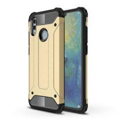 Hibrid Armor telefon tok telefontok (hátlap) tok Ütésálló Robusztus Cover Huawei P smart 2019 arany