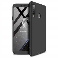 GKK 360 Protection tok Első és hátsó tok az egész testet fedő Samsung Galaxy A9 2018 A920 fekete telefontok