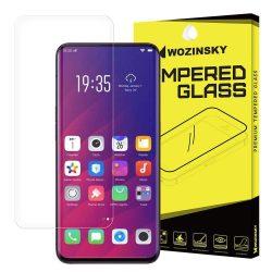 Wozinsky edzett üveg SCO (Csak a képernyő közepére) képernyővédő fólia Oppo Find X kijelzőfólia üvegfólia tempered glass
