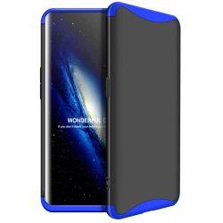 GKK 360 Protection telefon tok telefontok Első és hátsó az egész testet fedő Oppo Find X fekete-kék