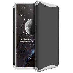 GKK 360 Protection telefon tok hátlap tok Első és hátsó tok telefon tok hátlap az egész testet fedő Oppo Find X ezüst