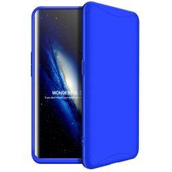 GKK 360 Protection telefon tok hátlap tok Első és hátsó tok telefon tok hátlap az egész testet fedő Oppo Find X kék