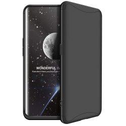GKK 360 Protection telefon tok hátlap tok Első és hátsó tok telefon tok hátlap az egész testet fedő Oppo Find X fekete