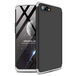 GKK 360 Protection telefon tok hátlap tok Első és hátsó tok telefon tok hátlap az egész testet fedő Oppo RX17 Neo ezüst