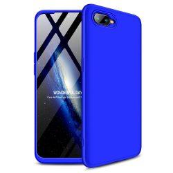 GKK 360 Protection telefon tok hátlap tok Első és hátsó tok telefon tok hátlap az egész testet fedő Oppo RX17 Neo kék