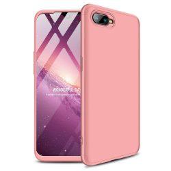 GKK 360 Protection telefon tok hátlap tok Első és hátsó tok telefon tok hátlap az egész testet fedő Oppo RX17 Neo rózsaszín