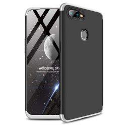 GKK 360 Protection telefon tok hátlap tok Első és hátsó tok telefon tok hátlap az egész testet fedő Oppo AX7 ezüst