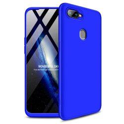 GKK 360 Protection telefon tok hátlap tok Első és hátsó tok telefon tok hátlap az egész testet fedő Oppo AX7 kék