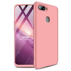 GKK 360 Protection telefon tok hátlap tok Első és hátsó tok telefon tok hátlap az egész testet fedő Oppo AX7 rózsaszín