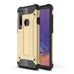 Hibrid Armor telefon tok telefontok (hátlap) tok Ütésálló Robusztus Cover Samsung Galaxy A9 2018 A920 arany
