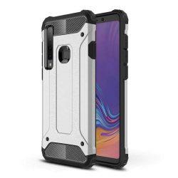 Hibrid Armor telefon tok hátlap tok Ütésálló Robusztus Cover Samsung Galaxy A9 2018 A920 ezüst