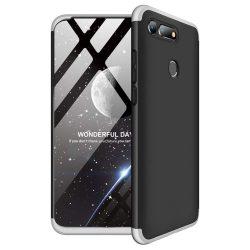 GKK 360 Protection telefon tok hátlap tok Első és hátsó tok telefon tok hátlap az egész testet fedő Huawei Honor View 20 ezüst