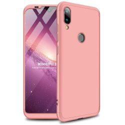 GKK 360 Protection telefon tok hátlap tok Első és hátsó tok telefon tok hátlap az egész testet fedő Xiaomi Mi Játék rózsaszín