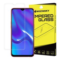 Wozinsky edzett üveg 9H képernyővédő fólia Oppo RX17 Neo kijelzőfólia üvegfólia tempered glass