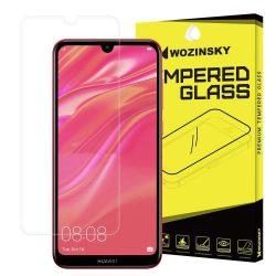 Wozinsky edzett üveg 9H képernyővédő fólia Huawei Y6 2019 / S6 Pro 2019 kijelzőfólia üvegfólia tempered glass