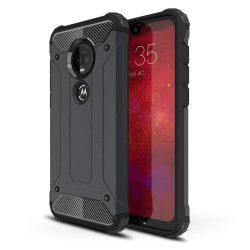 Hibrid Armor telefon tok telefontok (hátlap) tok Ütésálló Robusztus Cover Motorola Motorola G7 Plus / G7 fekete